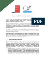 Analisis Bivariado de Estudio de Comportamiento Lector 2011