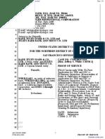 Bank Julius Baer & Co. Ltd. et al v. Wikileaks et al - Document No. 13