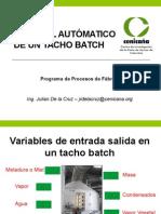 Control Tacho Batch