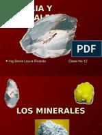 Clase No 12 Materia y Minerales