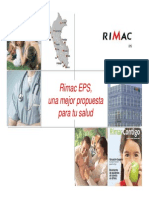 Plan de Salud - Rimac EPS