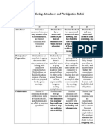 meeting attendance and participation rubric-3