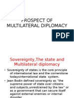 Prospect of Multilateral Diplomacy