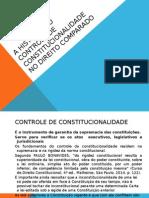 A História Do Controle de Constitucionalidade No Direito