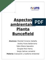 Aspectos Ambientales Planta Buncefield