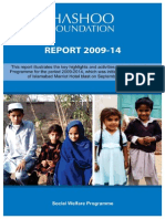 Sahara Fund Programme Consolidated Report 2009-2014