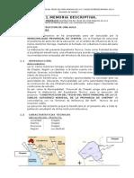 2.- Memoria y Especificaciones - Gue Cgn 2014