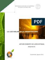 Luz Solar en La Arquitectura