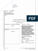 The Facebook, Inc. v. Connectu, LLC et al - Document No. 321