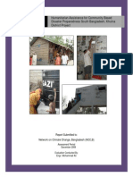 Evaluation Report_Humanitarian Assistance for Community Based Disaster Preparedness South Bangladesh, Khulna District Project_Mohammad Ali
