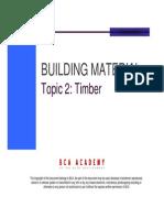 Topic 2 - Timber
