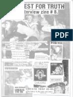 Honest for Truth Fanzine #8