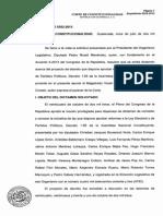 EXPEDIENTE 5352-2013 CORTE DE CONSTITUCIONALIDAD Dictamen consulta sobre reformas a la Ley Electoral....pdf