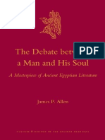 (Culture and History of the Ancient Near East 44) James P. Allen-The Debate Between a Man and His Soul_ a Masterpiece of Ancient Egyptian Literature-BRILL (2010)