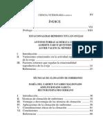 Indice de Estacionalidad Reproductiva de Ovejas