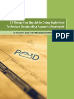 Best Practices to Reduce Oustanding Accounts Receivable