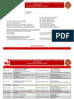 Agenda Visita de pares Evaluadores - Acreditación de Alta Calidad Maestría en Economia Aplicada