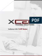 Indiana Life Cliff Notes NEW