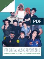 Digital Music Report 2015