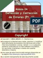 Módulo 04 - Detección y Corrección de Errores (Pt. 1).Color