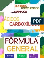 Nomenclatura de Compuestos Organicos-Acidos Carboxilicos