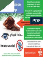 CAMPAÑA DE PREVENCIÓN CONTRA EL CARACOL AFRICANO- 13-4-15