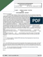 Denver PD Report on TSA Sexual Assaults