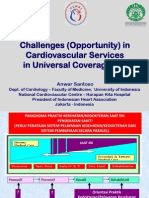 Plenary Session. 1. Challenges-opportunity of Cvd Services in Universal Coverage. Dr. Anwar Santoso Spjpk