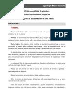 Estructura de Documento de Tesis