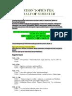 Hist 1000 Presentation Topics