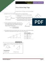 Bab 15 Matematik Tingkatan 3 - Trigonometri