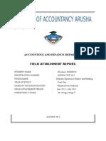 Field Report Tpa Dar Es Salaam.