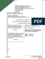 Bank Julius Baer & Co. Ltd. et al v. Wikileaks et al - Document No. 60