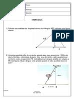 Exercícios Trigonometria 1