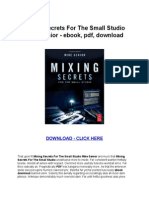 MixingSecretsForTheSmallStudioMikeSeniorThatuponfit-ebookpdfdownload