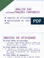 AnaliseDemCont - Análise do Capital de giro- índices da atividade e NCG.ppt