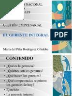 El Gerente Integral IIsem2014
