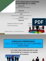 Humildad en Las Funciones Directivas_exposicion.