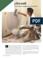 Repairing Drywall