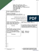 Bank Julius Baer & Co. Ltd. et al v. Wikileaks et al - Document No. 86