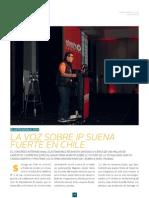 La voz IP suena fuerte en Chile