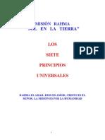 Los Siete Principios Universales