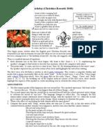 A Birthday (Christina Rossetti 1848) Poem, Analysis, Assignments