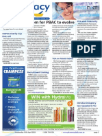 Pharmacy Daily for Wed 15 Apr 2015 - Room for PBAC to evolve, PPA adds indemnity, TGA on NSAID labels, Health, Beauty and New Products, and much more