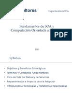 Fundamentos de SOA y Computación Orientada a Servicios