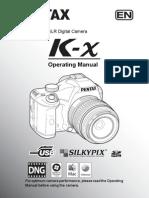 Manual Pentax K-X Ingles