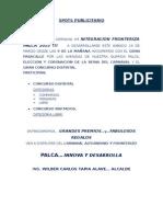 CARNAVALES PALCA 2015