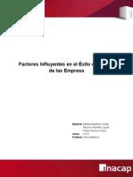 Factores Del Exito o Fracaso