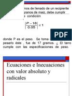 Sesion 2-Administracionpsicologia-clase UCV Ecuaciones e Inecuaciones - Valor Absoluto y Radicales