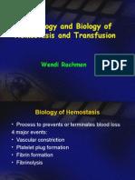 Hemostasis Transfusion
